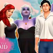 THE LITTLE MERMAID: ARIEL, ERIC AND URSULA